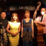 8/24(火) JazzVocal♪Live@All of Me Club 集合写真